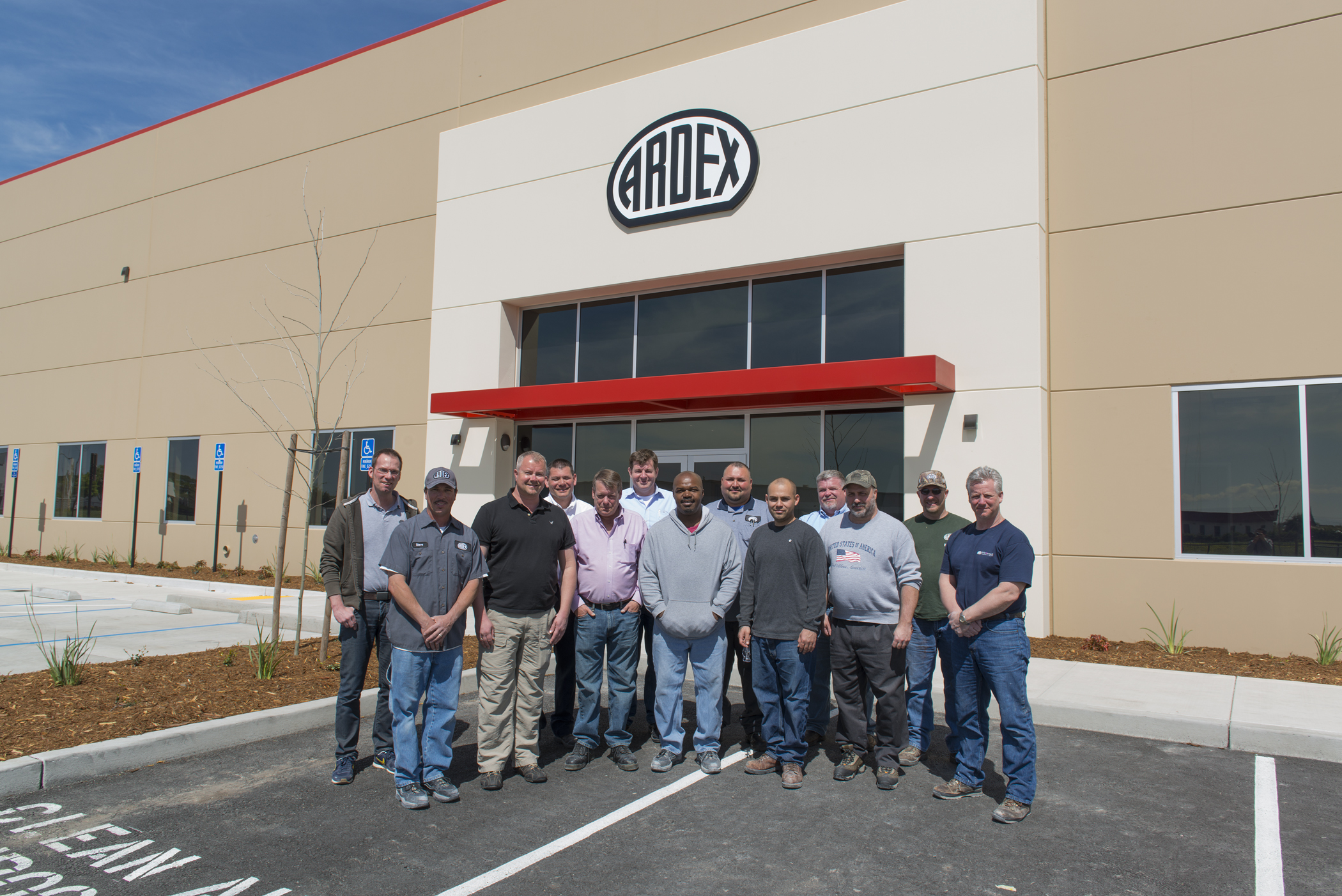 ARDEX Stockton Manufacturing, Distribution and Training